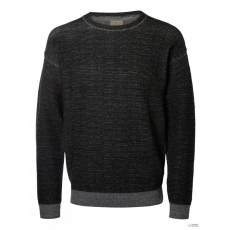 Selected férfi pulóver Selected WH7-SLATE_CREW_NECK_9