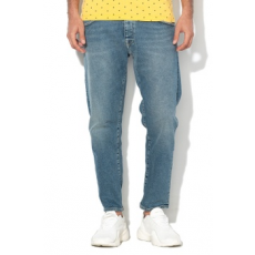Selected Homme , Aldo Regular Fit farmernadrág, Mosott kék, W34-L34 (16064143-LIGHT-BLUE-DENIM-W34-L34)