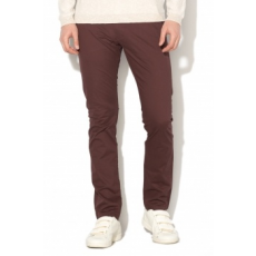 Selected Homme , Chino nadrág levehető övvel, lila, W31-L34 (16057040-DECADENT-CHOCOLATE-W31-L34)
