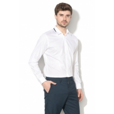 Selected Homme , Edric slim fit ing, Fehér, L (16059036-WHITE-L)