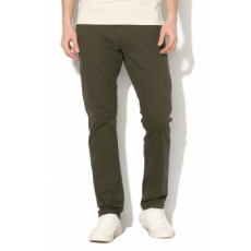 Selected Homme , Paris chino nadrág, Katonai zöld, W30-L32 (16057024-FOREST-NIGHT-W30-L32)