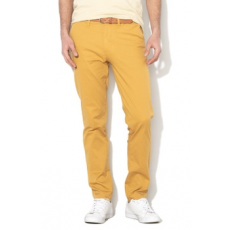Selected Homme , Yard slim fit chino nadrág, Mustársárga, W32-L32 (16067185-HONEY-MUSTARD-W32-L32)