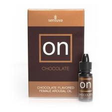 Sensuva ON stimuláló olaj nők számára, 5 ml, csokoládé Sensuva 3367 izgatók, stimulálók