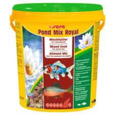 Sera Pond Mix Royal - táplálék (kerti tavakba) díszhalak számára (21l) haleledel