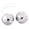 Seven Creations Silver Metal Balls