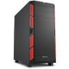 Sharkoon AI7000 Silent -Fekete-piros
