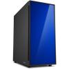 Sharkoon AM5 Silent táp nélküli ATX számítógépház kék