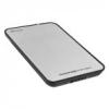 """Sharkoon Külső HDD Ház 2.5"""" - QuickStore Portable (ezüst;  max 9, 5mm 2, 5"""" Sata HDD - USB csatl.;  szálcsiszolt felső r.)"""