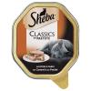 Sheba 22x85g Sheba tálcás nedves macskatáp megapackban - Classics pástétomban lazac