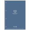 SHKOLYARYK Spirálfüzet, A4+, kockás, 80 lap, SHKOLYARYK,  University , vegyes