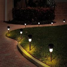 Shoppy Napelemes kerti lámpa, 10 darab kültéri világítás