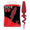Shove up - farkincás anál dildó (piros) - nagy