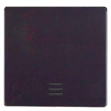 Siemens 1-es billentyű világítóablakkal fekete, Delta i-system (Siemens 5TG62201, 5TG6220-1) villanyszerelés