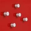 """SIGEL Extra erős henger alakú mágnes, 5 db SIGEL """"SuperDym"""", ezüst"""