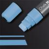 """SIGEL Folyékony krétamarker, vágott hegy, 5-15 mm, SIGEL""""150"""" kék"""