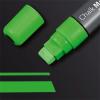 """SIGEL Folyékony krétamarker, vágott hegy, 5-15 mm, SIGEL""""150"""" zöld"""