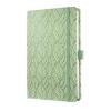 """SIGEL Jegyzetfüzet, exkluzív, 135x203 mm, vonalas, 174 oldal, keményfedeles, SIGEL """"Jolie"""", Spring Garden (SIJN303)"""