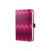 "SIGEL Jegyzetfüzet, exkluzív, 95x150 mm, vonalas, 174 oldal, keményfedeles, SIGEL ""Jolie"", Pink Passion"