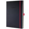 """SIGEL Jegyzetfüzet, exkluzív, A4, kockás, 194 oldal, keményfedeles, SIGEL """"Conceptum Red Edition"""",..."""