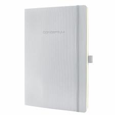 """SIGEL Jegyzetfüzet, exkluzív, A4, kockás, 194 oldal, puhafedeles, SIGEL """"Conceptum"""", ezüst füzet"""
