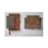 SIGEL Jegyzetfüzet, exkluzív, A5, vonalas, 194 oldal, SIGEL Conceptum Vintage, szürke