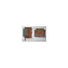 SIGEL Jegyzetfüzet, exkluzív, A5, vonalas, 194 oldal, SIGEL Conceptum Vintage, szürke irodai kellék