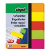 """SIGEL Jelölőcímke, papír, 5x40 lap, 12x50 mm, SIGEL """"Neon Mini"""", vegyes szín"""