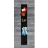 SIGEL Mágneses üvegtábla, 12x78 cm, SIGEL Artverum® , fekete