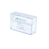 SIGEL Névjegytartó doboz, műanyag 100 db-os SIGEL víztiszta SVA110
