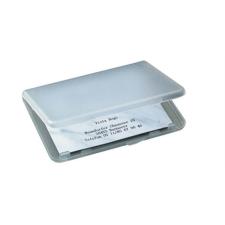 SIGEL Névjegytartó tárca, műanyag, SIGEL, áttetsző névjegytartó