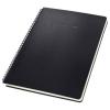 """SIGEL Spirálfüzet, exkluzív, A4, kockás, 80 lap, keményfedeles, SIGEL """"Conceptum"""", fekete"""