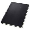 SIGEL Spirálfüzet, exkluzív, A4, vonalas, 80 lap, keményfedeles, SIGEL Conceptum, fekete (SICO821)