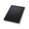 """SIGEL Spirálfüzet, exkluzív, A5, kockás, 80 lap, keményfedeles, SIGEL """"Conceptum"""", fekete"""