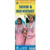 Sikkim és Északkelet-India térkép - ITM