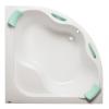 Siko Samanta PLUS akril fürdőkád 140x140cm akril sarokkád 5mm-es akrilból