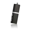 Silicon Power 4GB Silicon Power LuxMini 710 Black USB2.0 (SP004GBUF2710V1K)
