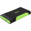 Silicon Power Armor A15 1000GB USB3.0 2,5' külső HDD ütésálló fekete-zöld