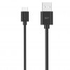 Silicon Power kábel; microUSB - USB; Boost Link LK30; 1M; 2.4A; fekete