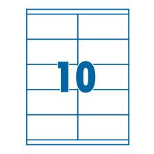 SilverBall Etikett 105x58mm 10címke/lap SilverBall <100lap/dob> etikett