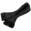 Silverstone ATX 24 pin Tápkábel Fekete 30cm SST-PP07-MBB