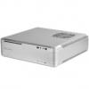 Silverstone SST-FTZ01S Fortress Mini ITX ház - ezüst