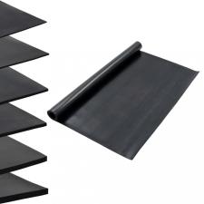 Sima felületű csúszásgátló gumiszőnyeg 1,2 x 2 m 3 mm építőanyag