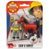 Simba Sam, a tűzoltó: Sam figura lóval