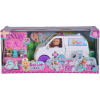Simba Toys Évi Love - Állatorvosi mentőautó 2 az 1-ben játékszett
