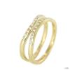 Skagen Női gyűrű arany Zyrkonia JRSG027 S7 Gr. 54 (17,3)