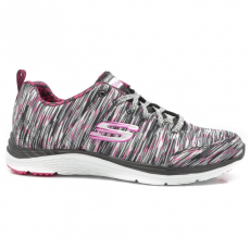 Skechers 12223/BKWP BLACK/WHITE/PINK
