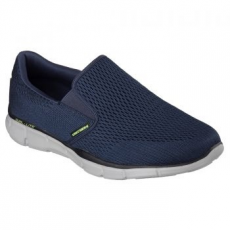 Skechers Equalizer Double Play férfi sportcipő, Navy, 42.5 (51509-NVY-42.5)