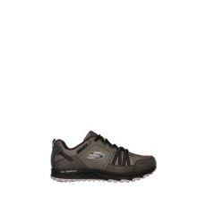 Skechers , Escape Plan sneakers cipő, Szürke, 42.5 (51591-CCBK-42.5)