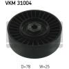 SKF Feszítőgörgő, hosszbordás szíj SKF VKM 31004