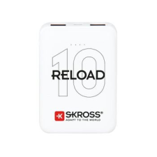 Skross Reload10 10Ah power bank USB/microUSB kábellel, két kimenettel power bank